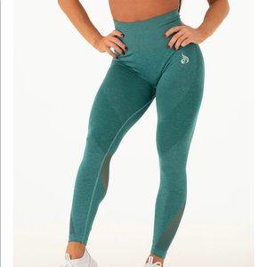 Ryderwear emerald green seamless leggings